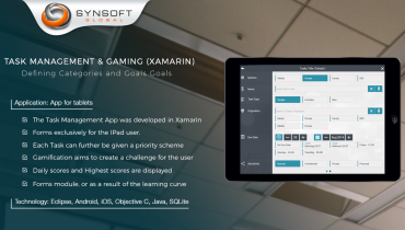 Task Management & Gaming (Xamarin)