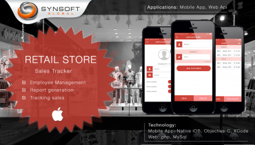 Retail Store Sales Management (iOS)