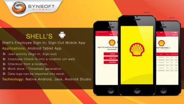 Shell's Employee Sign-In, Sign-Out Mobile App (Android)