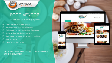 Food Vendor (WordPress/MYSQL)