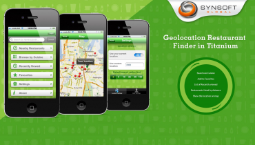 Geolocation Restaurant Finder (Titanium)