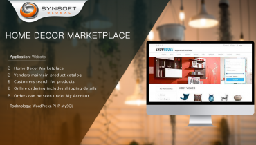 Home Decor Marketplace (WordPress/MySQL)