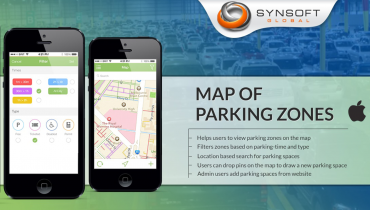 Map of Parking Zones (iOS)