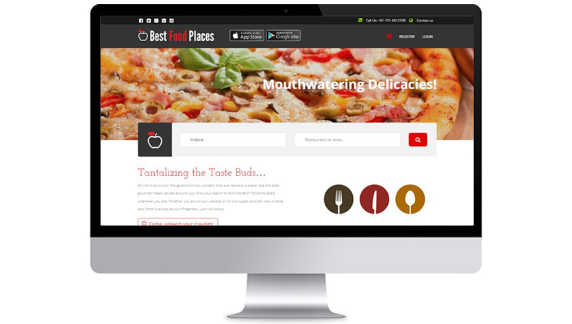 Best Food Website Development Company India