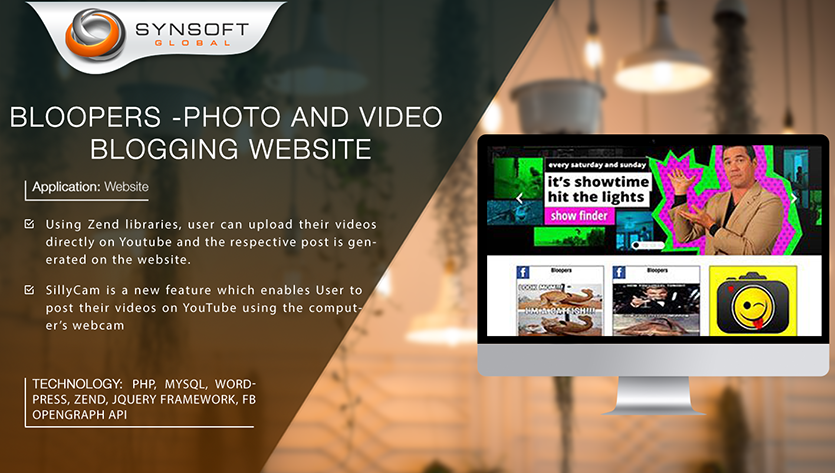 Photo video Blogging Website Development
