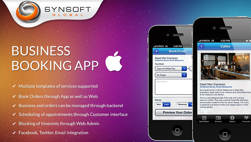 Business Booking Mobile App Development