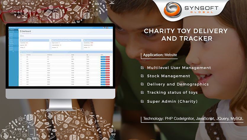 Toy Delivery tracking Website Development