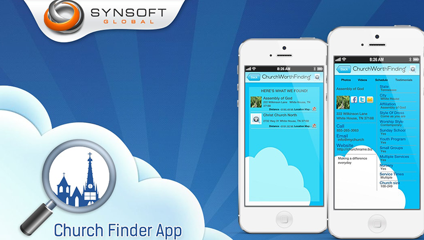 Church Finder iOS Mobile App Development Company