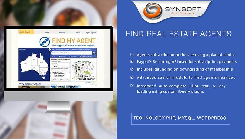 Real Estate Agent Website Development Company