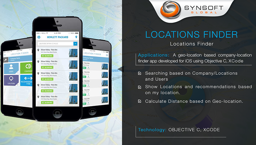Geo Location Mobile App Development