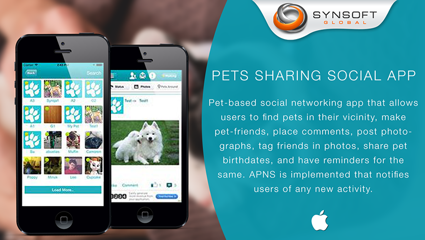 Pets Sharing Mobile App Development Company
