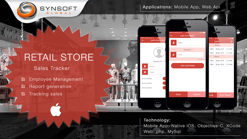 Sales Tracker Mobile App Development Company