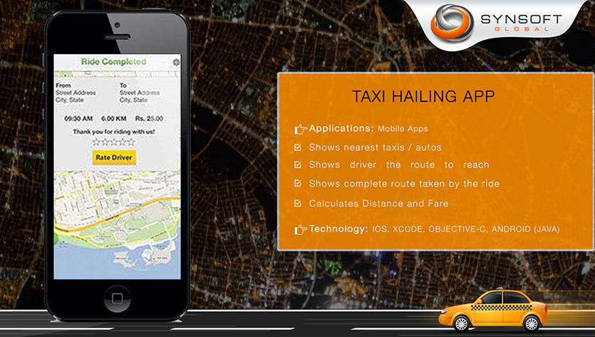 Taxi Mobile App Development Company India
