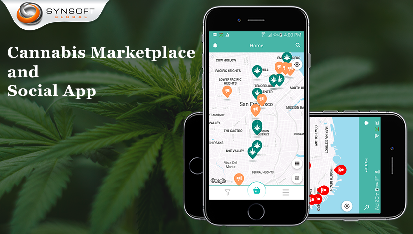 cannabis marketplace mobile