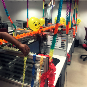 VOIP Lane Decoration @ Synsoft Global
