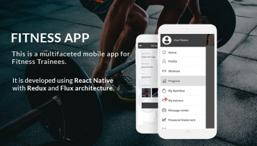 Fitness Training Mobile App