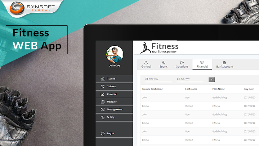 fitness website for trainers